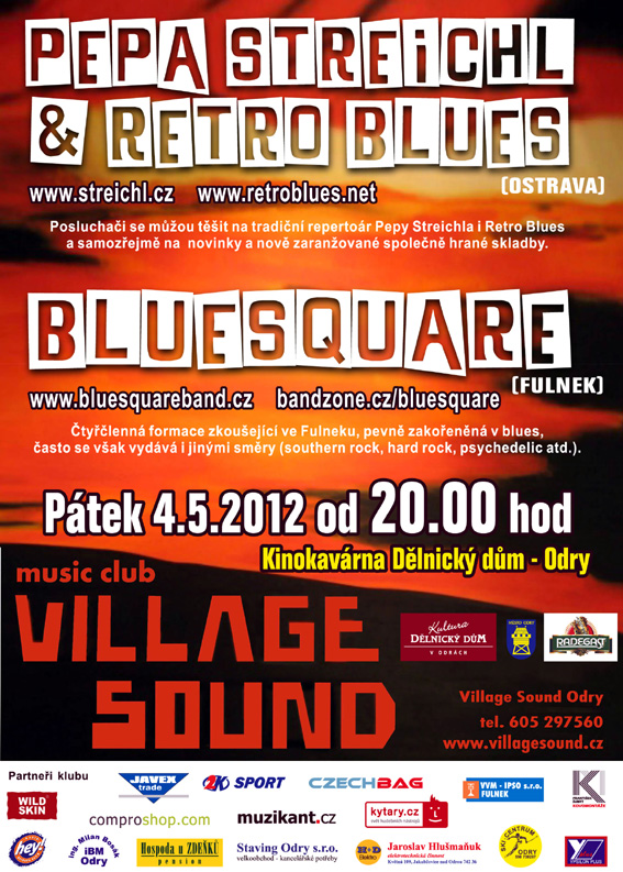 Plakát k pátku 4. května v Odrách